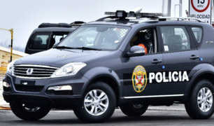Oxapampa: patrullero ocasiona accidente y deja una joven herida