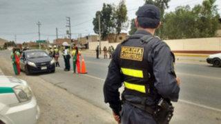 Ayacucho: balean a suboficial durante intervención policial a auto sospechoso