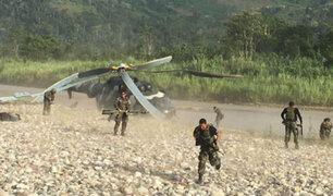 Huallaga: destruyen pistas de aterrizaje clandestinas donde narcos realizaban intercambios