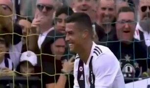 Liga Italiana: CR7 anotó doblete con la Juventus