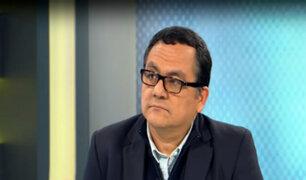 """Víctor Ponce: """"No es posible hacer reformas si el presidente Vizcarra y el Congreso están confrontados"""""""