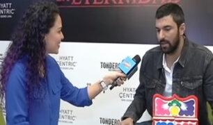 El actor Engin Akyürek habló de todo en entrevista exclusiva con Combinado