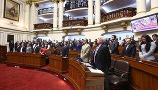Comisión de Constitución debate dictamen sobre bicameralidad