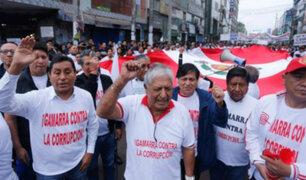Comerciantes de Gamarra exigen que no se libere a exalcalde Elías Cuba