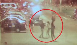 SMP: banda de extranjeras acuchillan y hieren a dos personas