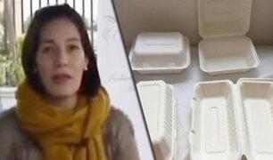 Empresa peruana ofrece envases biodegradables elaborados con caña de azúcar