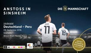 Perú vs Alemania: Arrancó venta de entradas para amistoso internacional