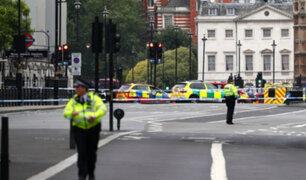 Theresa May agradeció respuesta rápida de autoridades tras atropello en Londres