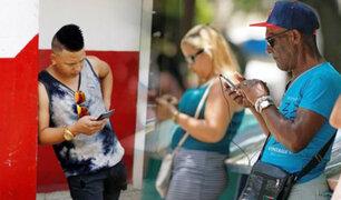 Cuba: ciudadanos acceden por primera vez a Internet desde sus celulares en toda la isla