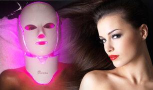 Lo último en belleza son los faciales con máscaras LED