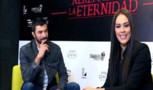 En Exclusiva: así fue el encuentro entre Karen Schwarz y el actor turco Engin Akyürek