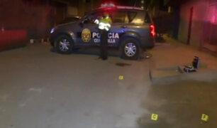 SMP: mujer es asesinada a balazos por resistirse al robo de su celular