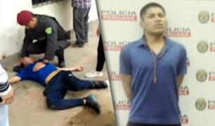 Villa María del Triunfo: ladrón de celulares finge paro cardíaco para evitar ser detenido