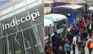Indecopi falló a favor para que buses con papeletas impagas sigan circulando