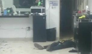 La Victoria: joven es asesinado al interior de barbería