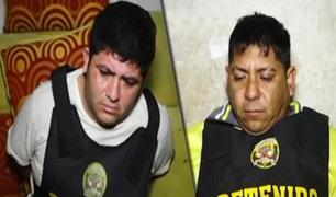 """""""Los Intocables de Ica"""": desarticulan organización criminal dedicada al tráfico de drogas"""