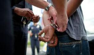 Callao: capturan a delincuente por asalto y robo