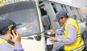 MML se pronunció tras falló a favor de transportistas con multas