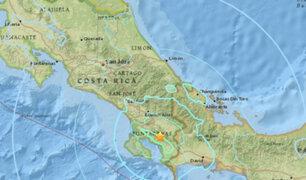 Sismo de 6,0 remeció a Costa Rica