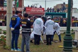 Cerro Azul: recuperan cadáver de niña que cayó a un pozo de la plaza de Armas