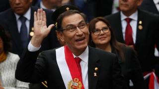 Aumenta la aprobación de Martín Vizcarra, según encuestas