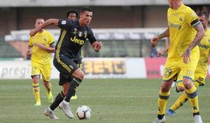 CR7 debuta en la liga italiana y el Barza triunfó en la liga española