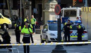 España: atentado terrorista se registró en comisaría de Barcelona
