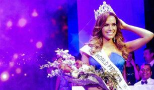 Estefani Mauricci perdió la corona del Miss World Perú 2018
