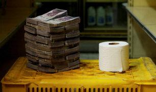 Venezuela: Los alucinantes precios de la canasta básica en torres de billetes [FOTOS]