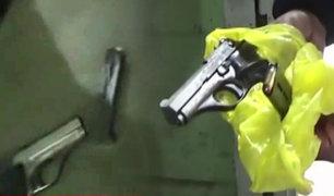 Callao: detienen a sujetos que portaban armas de fuego en la zona de Atalaya