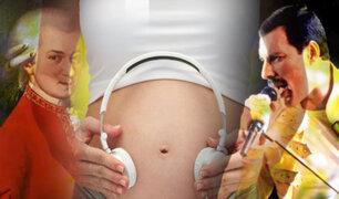 """A los bebés en el vientre materno les encanta la música de """"Queen"""" y Mozart"""