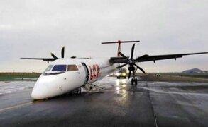 Jorge Chávez: denuncian maltratos de aerolínea tras suspensión de operaciones