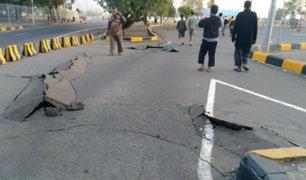 Indonesia: terremoto de magnitud 6.9 deja por lo menos 14 muertos