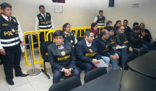 Miembros de 'Los Intocables Ediles' y 'Cuellos Blancos del Puerto' fueron llevados a diversos penales de la capital
