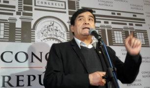 """Benicio Ríos: """"Pido disculpas al país, a mi región y a los electores por haberme ausentado"""""""