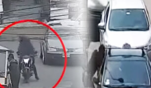 Inseguridad ciudadana: cámaras registran asaltos y balaceras en Surquillo