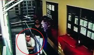 Detenido es captado escapando de sede judicial en San Juan de Miraflores