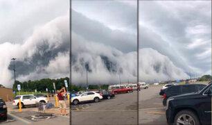 """EEUU: aterradora """"Nube Tsunami"""" sorprendió a pobladores de Illinois"""