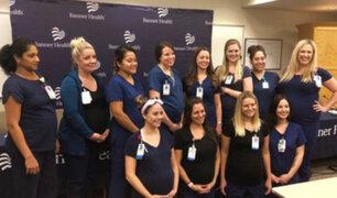 EEUU: 16 enfermeras gestantes trabajan en hospital de Arizona