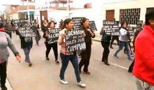 Cerro Azul: cientos marchan exigiendo justicia por muerte de niña Xohana