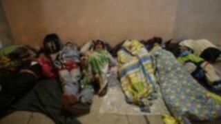 Venezolanos llegan a Lima después de travesía de ocho días