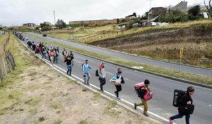Colombia pide a Perú y Ecuador unificar política migratoria para venezolanos