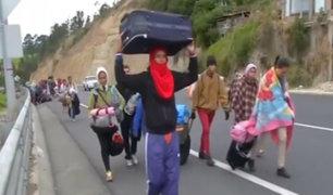 Éxodo venezolano: pobreza, hambre y violencia obliga a venezolanos a dejar su país