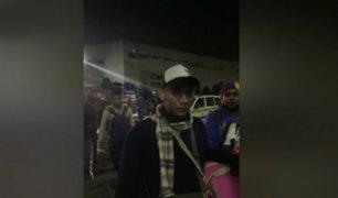 Plaza Norte: desalojan a ciudadanos venezolanos de terminal terrestre
