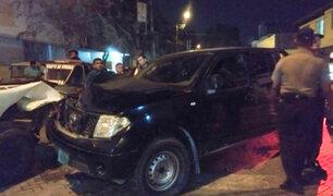 Efectivos policiales conducían camioneta que mató a joven estudiante en Piura