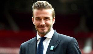 David Beckham será galardonado con el Premio Presidente de la UEFA