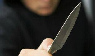 Chiclayo: hombre es acuchillado tras oponerse al robo de sus pertenencias