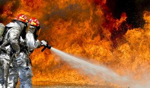 San Miguel: bomberos y serenos rescataron a ancianos durante incendio en su vivienda