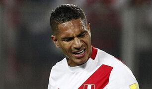 Paolo Guerrero aún no podrá jugar amistosos por sanción del TAS