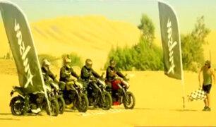 Motociclistas peruanos vivieron su 'Mini Dakar' en nuestro país